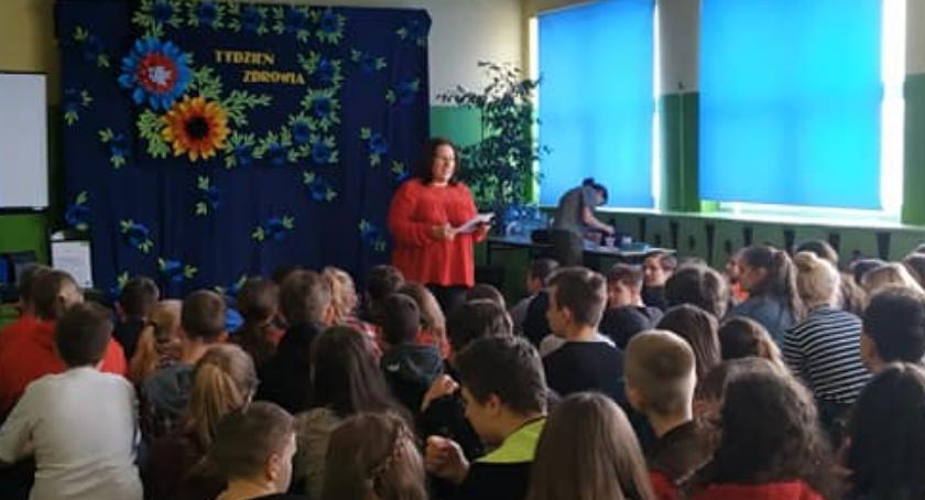 Szkoły podstawowe, Tydzień zdrowia Brześciu Kujawskim - zdjęcie, fotografia