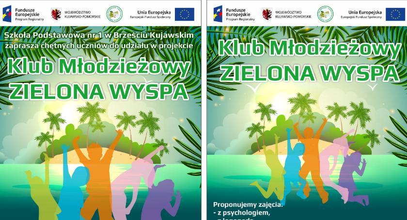 Szkoły podstawowe, Projekt ZIELONA WYSPA Brześciu Kujawskim - zdjęcie, fotografia
