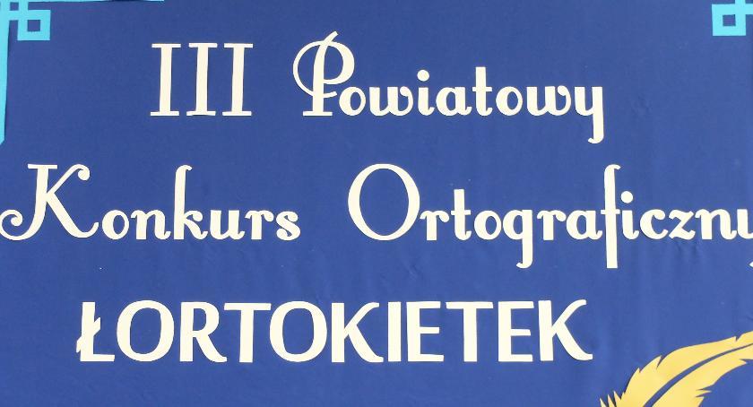 Szkoły podstawowe, Ortograficzna bitwa Brzeskiej Jedynce - zdjęcie, fotografia