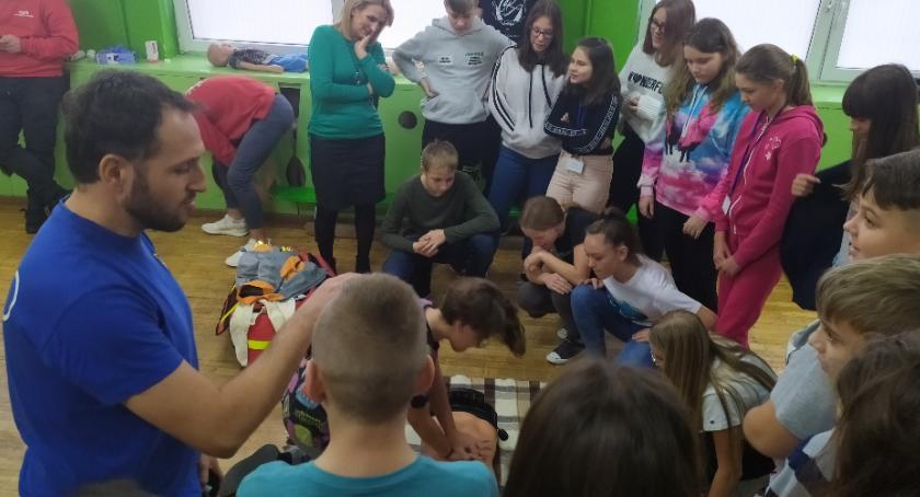 Szkoły podstawowe, Pierwsza Pomoc Przedmedyczna Brześciu Kujawskim - zdjęcie, fotografia