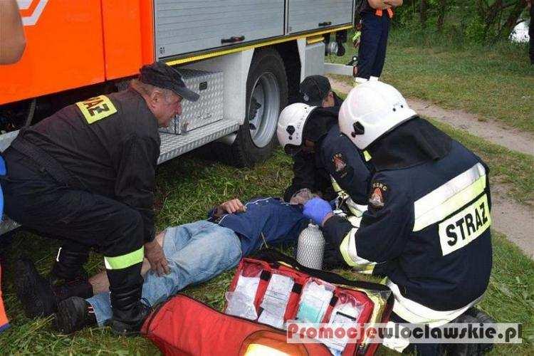 Społeczeństwo, Ponad setka strażaków akcji Włocławkiem [ZDJĘCIA] - zdjęcie, fotografia