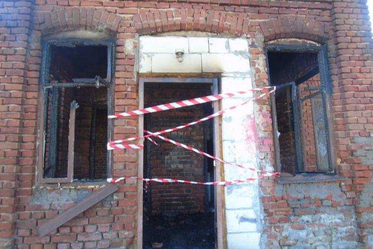 Region_, Pożar jednorodzinnego regionie Podpalacz zatrzymany przez policję - zdjęcie, fotografia