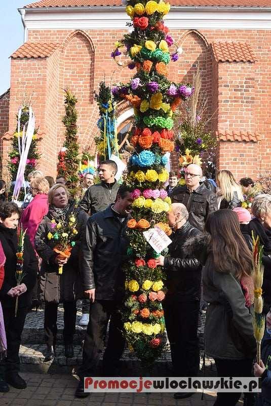 Kościół - Parafie , Niedziela Palmowa Brześciu Kujawskim - zdjęcie, fotografia