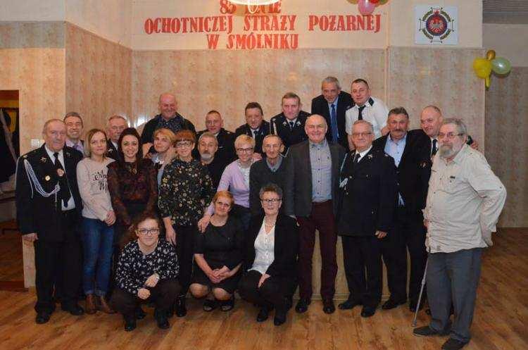 Społeczeństwo, Zarząd absolutorium Strażacy ochotnicy Smólniku podsumowali [ZDJĘCIA] - zdjęcie, fotografia