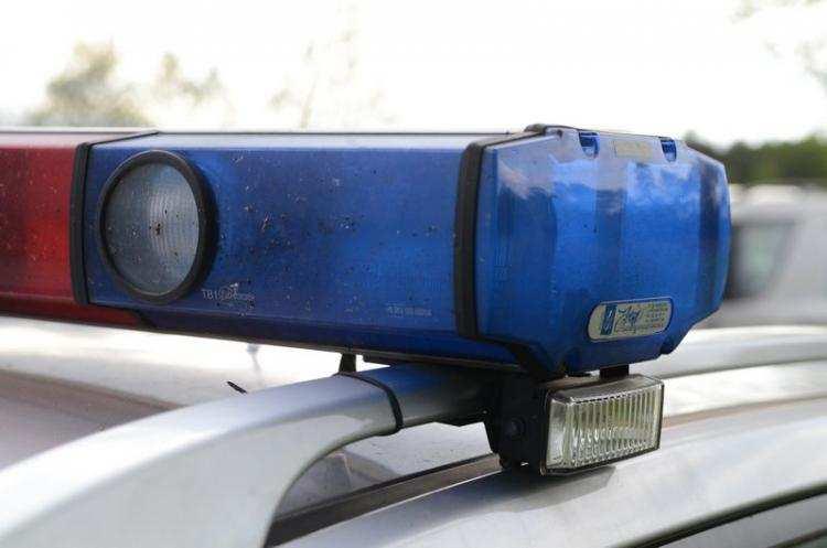 Informacje z regionu, Zderzenie dwóch samochodów Kierowca zasnął kierownicą - zdjęcie, fotografia