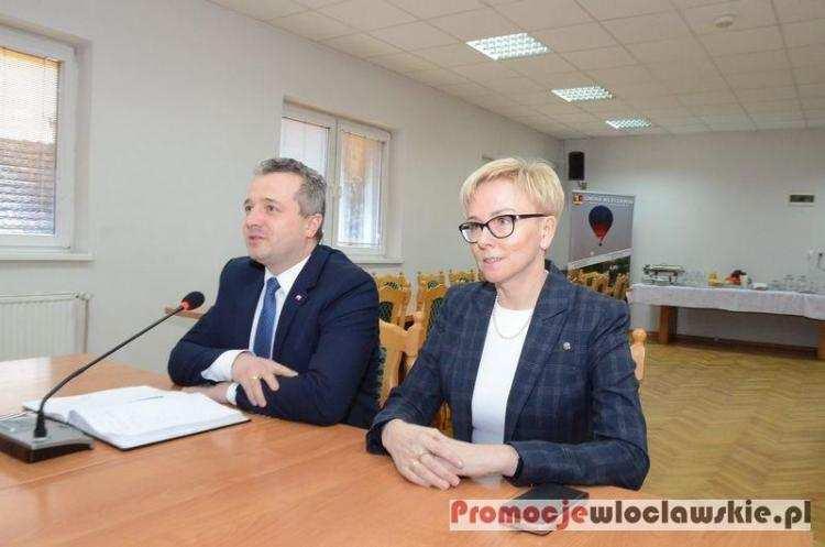 Polityka, Wojewoda znów odwiedzi Włocławek Powiat Włocławski rośnie siłę inwestorów - zdjęcie, fotografia