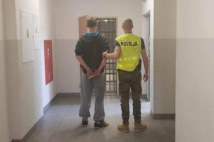 Informacje z regionu, letni sprawca wielokrotnych przestępstw zatrzymany Postawiono zarzutów - zdjęcie, fotografia