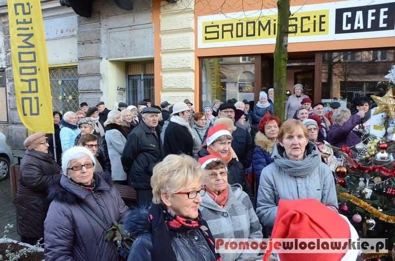 Fotoreportaże_, Spotkanie świąteczne seniorów Kawiarni Obywatelskiej Włocławku - zdjęcie, fotografia