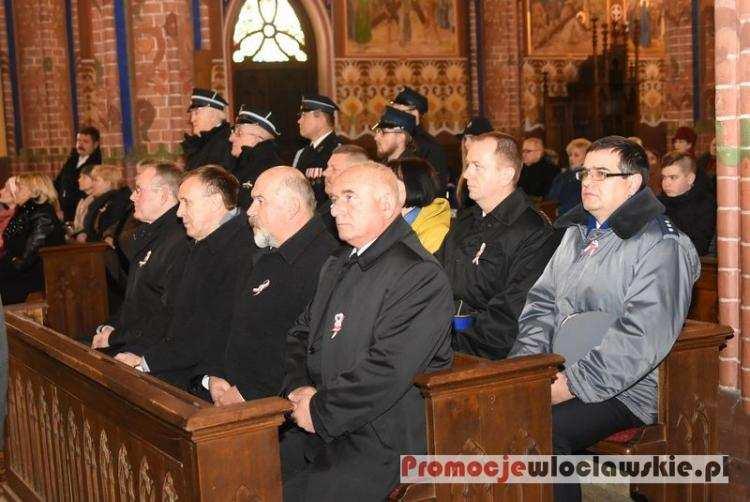 Ludzie_, Powiatowe Obchody Święta Niepodległości Brześciu Kujawskim [ZDJĘCIA] - zdjęcie, fotografia