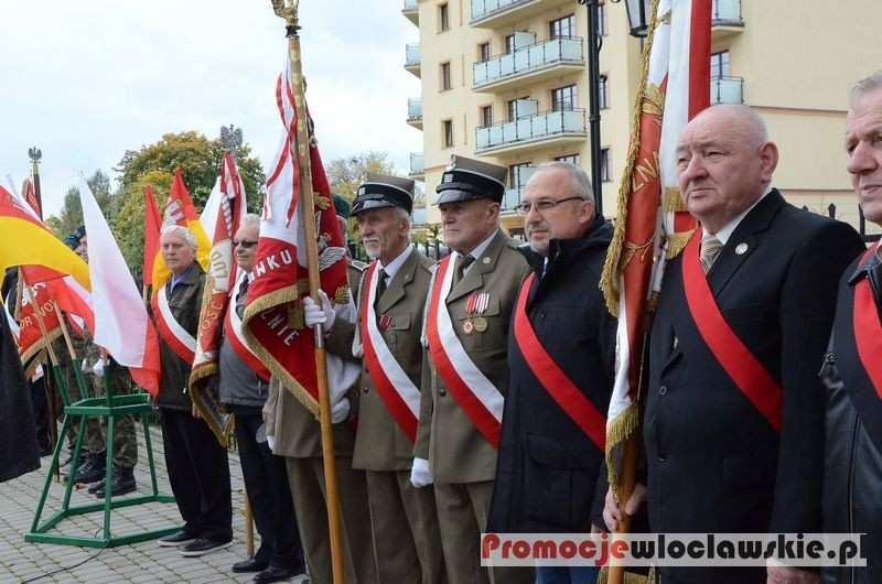 Fotoreportaże_, Uroczyste obchody rocznicy bitwy Lenino Włocławku - zdjęcie, fotografia