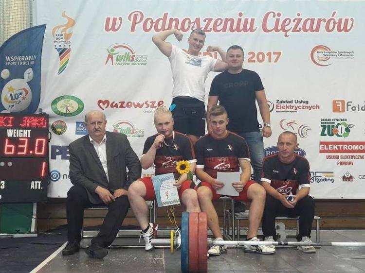 Karate, Sukces lubranieckiego sztangisty - zdjęcie, fotografia