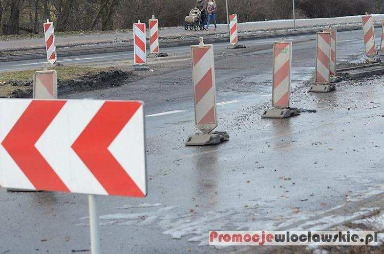 Społeczeństwo, Zmiany organizacji ruchu Michelinie Włocławku - zdjęcie, fotografia