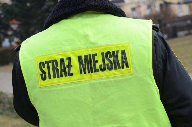 Społeczeństwo, Pijany chodził centymetrową maczetą Włocławku - zdjęcie, fotografia