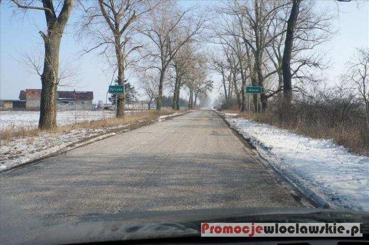 Ludzie_, długo potrwa rozbudowa drogi powiatowej Osięciny Wieniec Włocławek - zdjęcie, fotografia