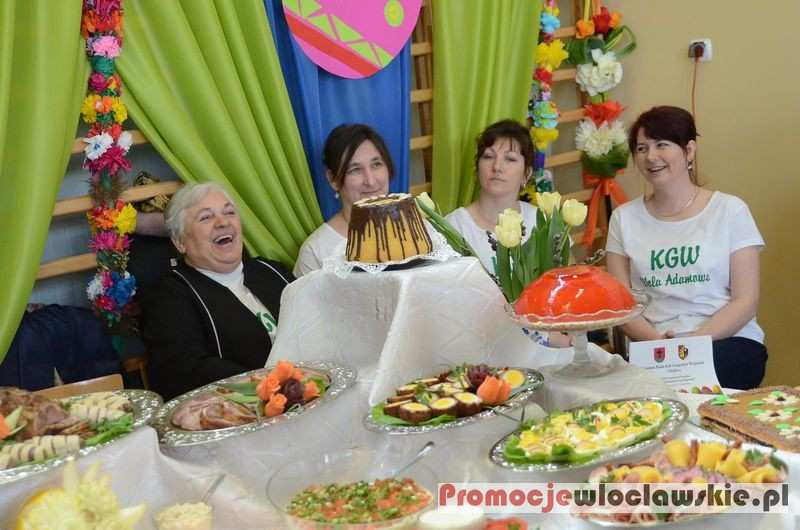 Inne, Stoły Wielkanocne Kujawach Izbicy Kujawskiej - zdjęcie, fotografia