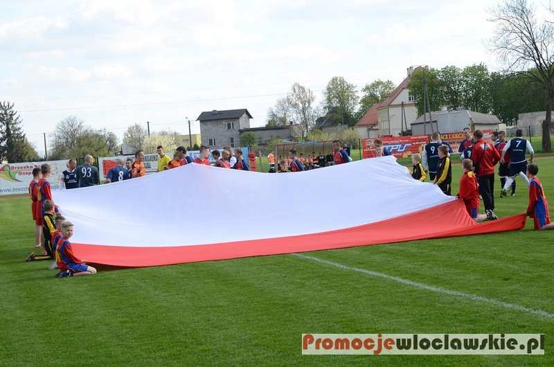 Piłka nożna, Łokietek Brześć Kujawski Zdrój Ciechocinek - zdjęcie, fotografia