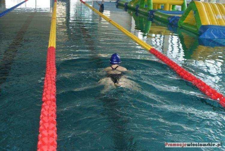 Pływanie, Nocny Maraton Pływacki OTYLIADA weekend Włocławku - zdjęcie, fotografia