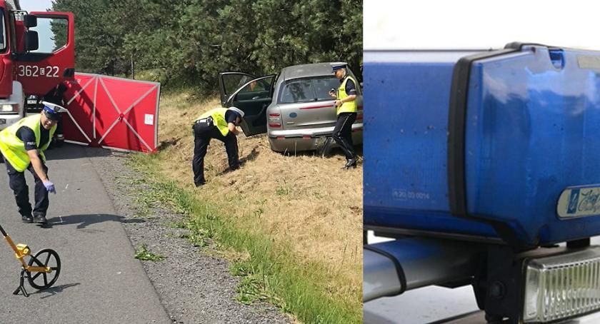 Wypadki drogowe, Śmiertelny wypadek Włocławkiem Policja poszukuje świadków - zdjęcie, fotografia