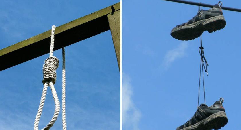 Sprawy kryminalne - kronika, Mieszkaniec Lipna miał sznurowadło Pomoc przyszła ostatniej chwili - zdjęcie, fotografia