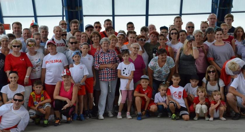 Rowery kolarstwo, Rowerowy Lubieniu Kujawskim Uczcili rocznicę odzyskania przez Polskę niepodległości - zdjęcie, fotografia