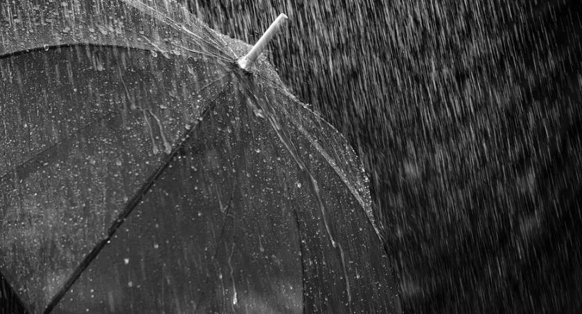 Komunikaty, Ulewne deszcze Włocławku okolicach kiedy - zdjęcie, fotografia