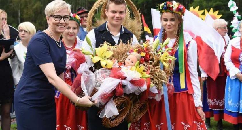 Imprezy, Dożynki Kruszynie Kordian gwiazdami Gminie Włocławek - zdjęcie, fotografia