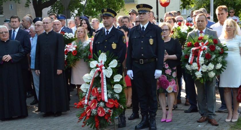 Wydarzenia_, rocznica wybuchu Powstania warszawskiego Włocławku [ZDJĘCIA] - zdjęcie, fotografia