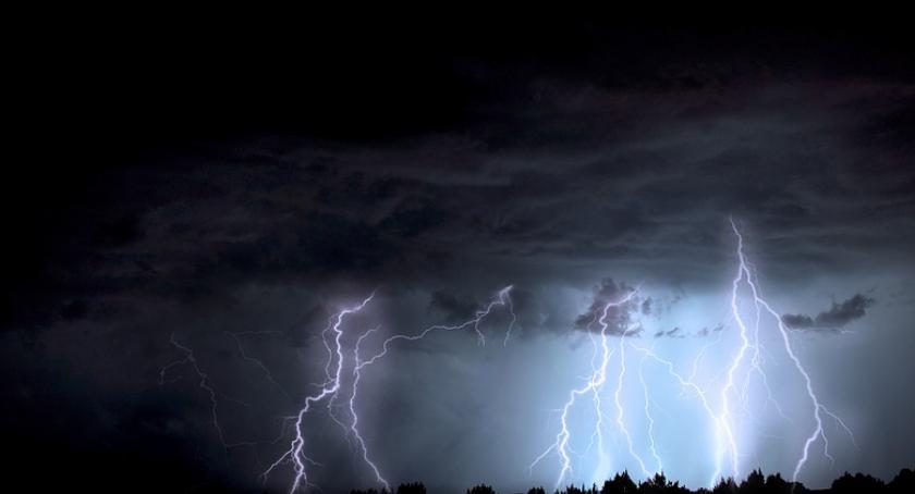 Komunikaty, Nadchodzą gwałtowne burze Włocławek okolice [OSTRZEŻENIE] - zdjęcie, fotografia