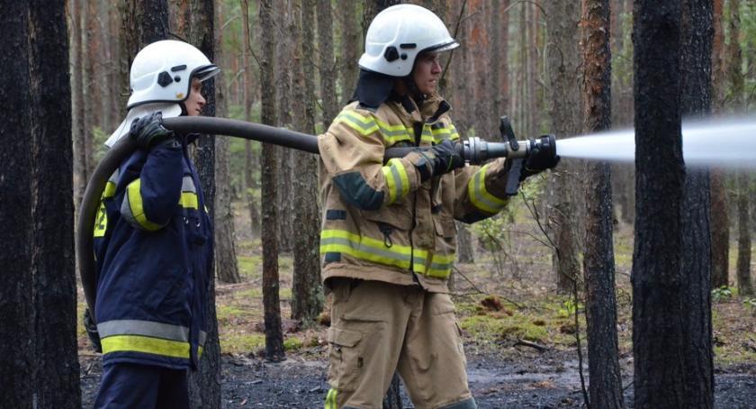 Pożary interwencje straży , Pożar Kosinowie Gminie Włocławek [ZDJĘCIA] - zdjęcie, fotografia