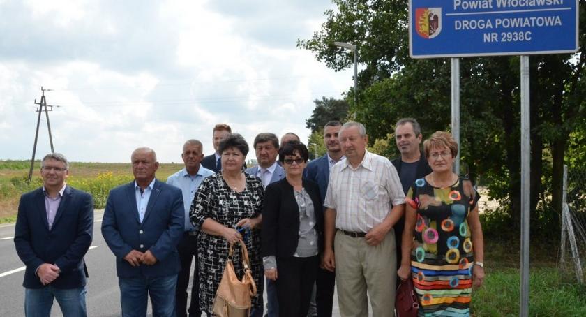 Inwestycje, Droga powiatowa Chodecz Dąbrowice miarę wieku [ZDJĘCIA] - zdjęcie, fotografia