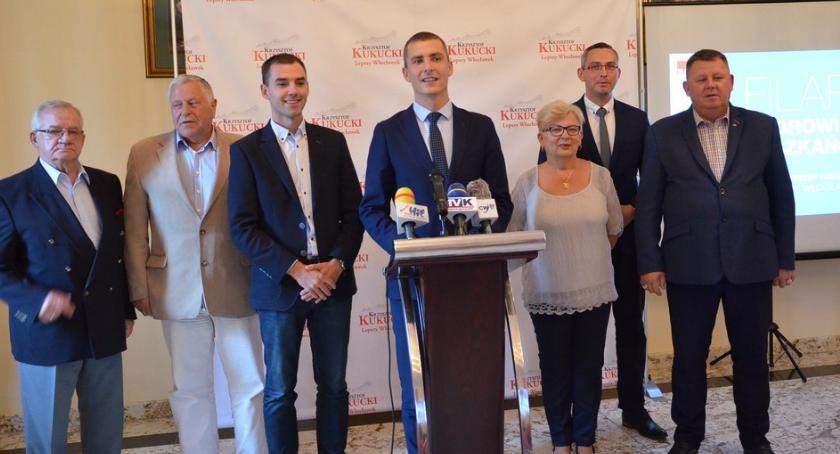 Polityka, Wybory samorządowe Włocławku filarze programu Lepszy Włocławek Zdrowi Mieszkańcy - zdjęcie, fotografia