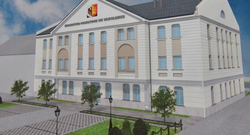 Inwestycje, budynek geodezji szkoła Chodczu Milionowe inwestycje Powiecie Włocławskim [WIZUALIZACJA] - zdjęcie, fotografia