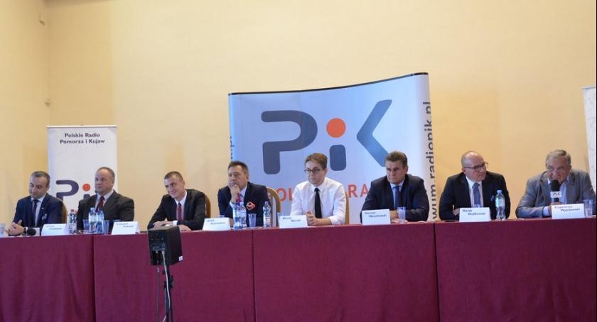 Polityka, Gorąca debata kandydatów Prezydenta Włocławku - zdjęcie, fotografia
