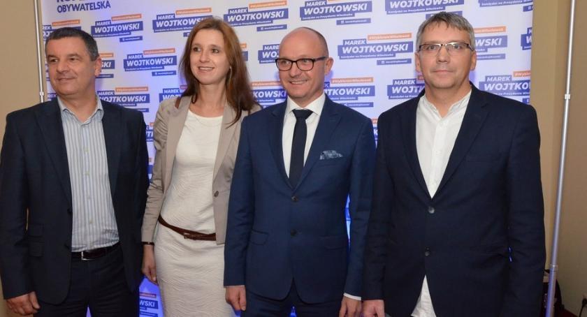 Polityka, Konwencja wyborcza Marka Wojtkowskiego [ZDJĘCIA] - zdjęcie, fotografia