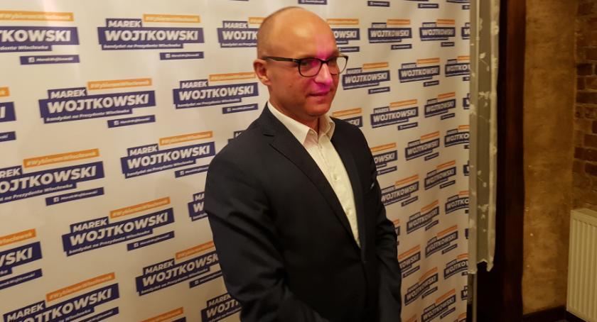 Polityka, Wieczór wyborczy Włocławku Marek Wojtkowski [FOTO VIDEO] - zdjęcie, fotografia