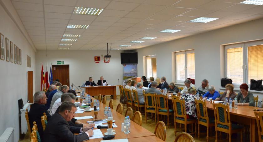 Polityka, Znamy komisje przewodniczących Sesja Gminy Włocławek - zdjęcie, fotografia