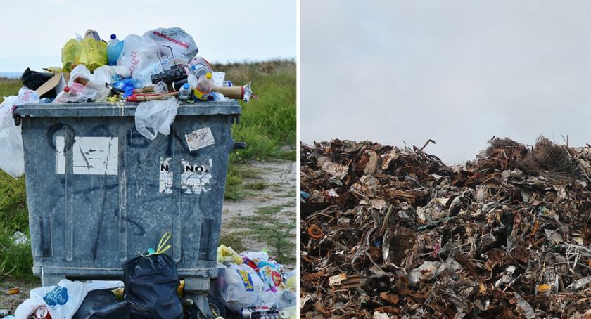 Inwestycje, Kończy miejsce śmieci Machnaczu Wzrosną opłaty - zdjęcie, fotografia