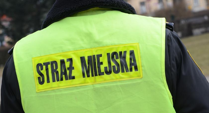 Straż Miejska, Dramatyczne chwile starszej kobiety Włocławku - zdjęcie, fotografia