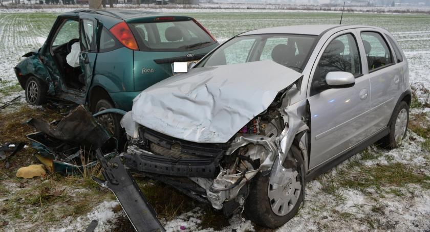 Wypadki drogowe, Śmiertelny wypadek Bartłomiejowicach powiecie radziejowskim - zdjęcie, fotografia