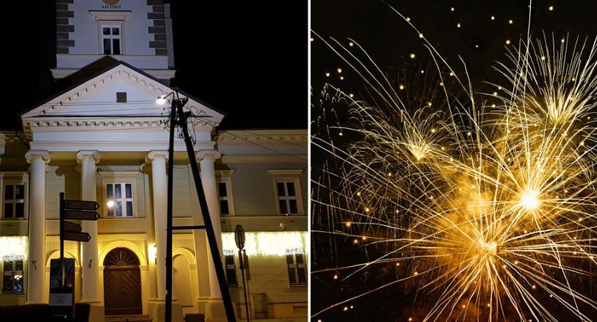 Imprezy, Sylwester 2018/2019 Brześciu Kujawskim Muzyka fajerwerki powitanie Nowego - zdjęcie, fotografia