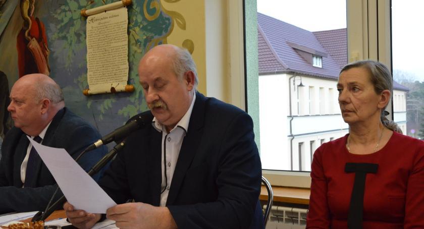 Rada Miasta , Budżet Lubrańca uchwalony planują - zdjęcie, fotografia