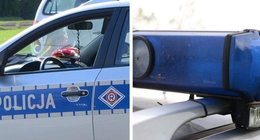 Wypadki drogowe, Śmiertelny wypadek drodze Włocławek Bobrowniki żyje letni pasażer - zdjęcie, fotografia