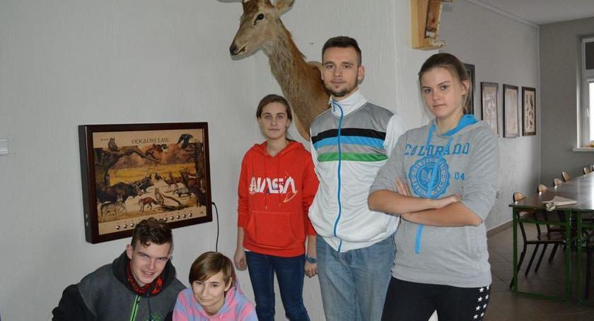 Fotoreportaże_, Uczniowie Zespołu Szkół wizytą - zdjęcie, fotografia