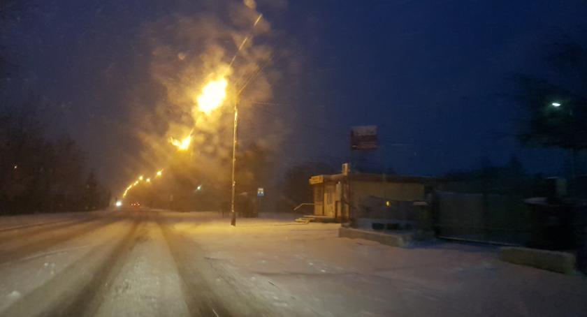 Wypadki drogowe, Kolizja kolizją Włocławku regionie zdarzeń jeden dzień Wszystko przez zimę - zdjęcie, fotografia