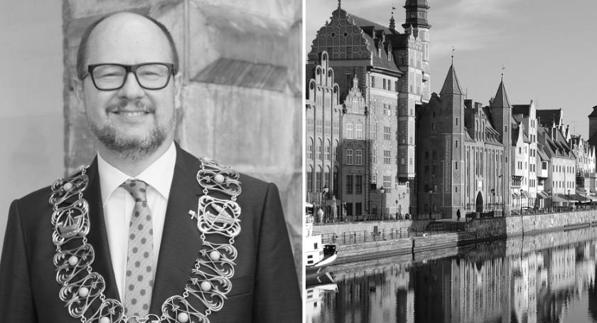 Komunikaty, żyje Prezydent Gdańska Paweł Adamowicz Żałoba Włocławku - zdjęcie, fotografia