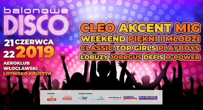 Koncerty, Balonowe Disco Włocławkiem Kruszynie Akcent Weekend wiele innych gwiazd - zdjęcie, fotografia