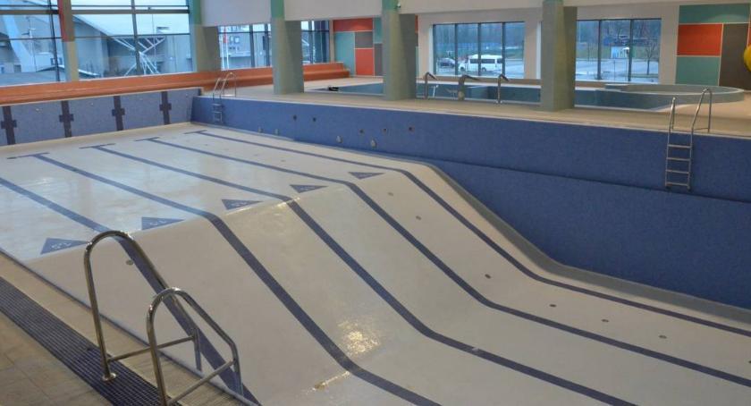 Pływanie, włocławski basen przecieka Ratusz wyjaśnia - zdjęcie, fotografia