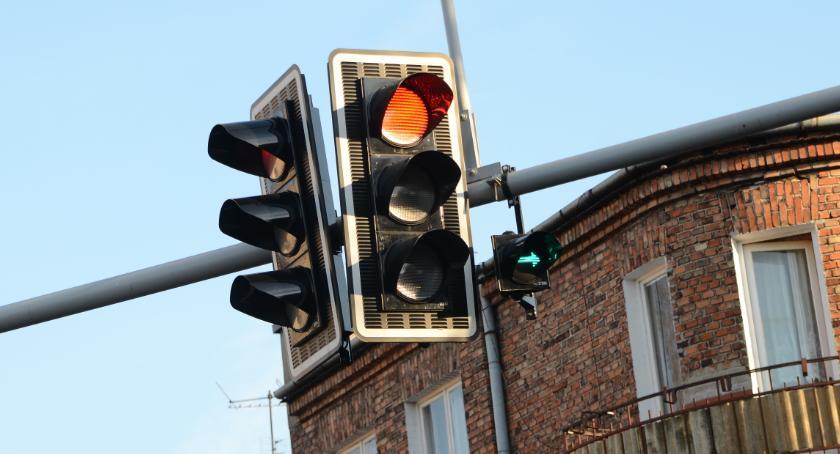 Komunikacja, dzieje sygnalizacją Włocławku awaria - zdjęcie, fotografia