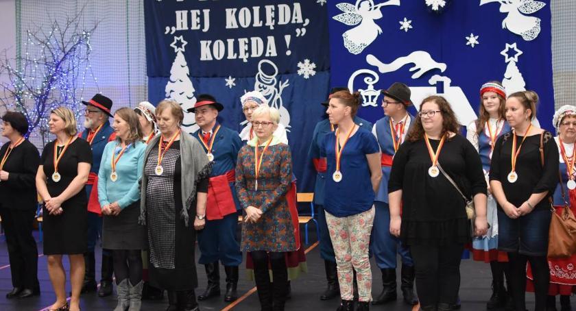 Kultura, Wspólne kolędowanie seniorami Smólniku [VIDEO ZDJĘCIA] - zdjęcie, fotografia