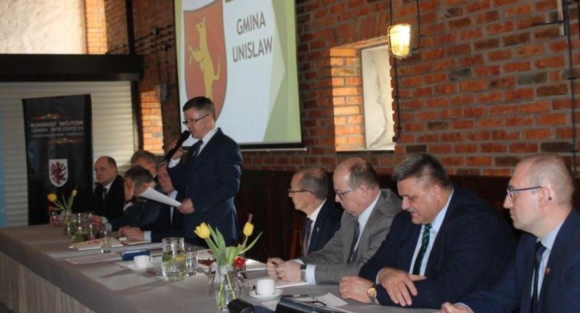 Sejmik, Konwent Wójtów Unisławiu - zdjęcie, fotografia